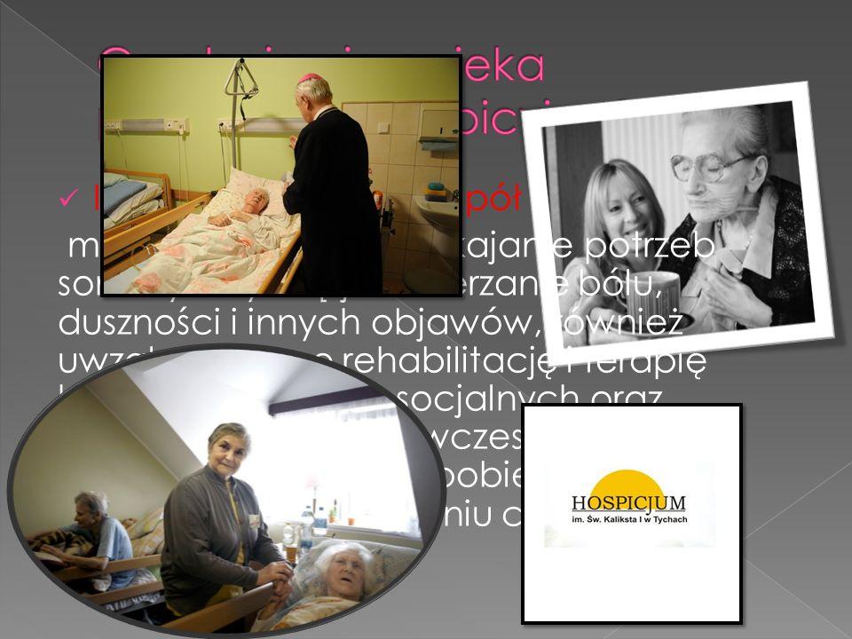 Co obejmuje opieka paliatywna i hospicyjna [OPH]